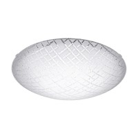 Plafoniera Riconto 1, 95675, Alb-Transparent, 250, LED 11W, 950lm