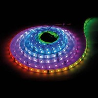 BANDA LED DIGITALA, IC D7722, 16 PIXELS/M, 11.2W/m, 12V DC, 48 leds/m, 5M, IP20
