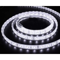 Banda Led flexibila, lumina alba calda, waterproof, 4.8W/m, 12V DC