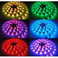 Banda Led flexibila RGB, 7.2W/m, 12VDC, waterproof, IP65