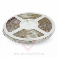 Banda LED SMD 3528 60 LED/metru Alb natural impermeabil IP65