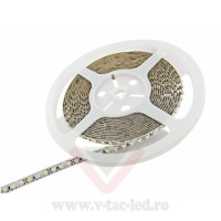 Banda LED SMD 5050 60 LED/metru Alb natural impermeabil IP65