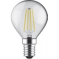 BEC LED CU FILAMENT E14 DIMABIL 5W 2700K LUMINA ALBA CALDA - ACA Lighting RETRO5WWSD