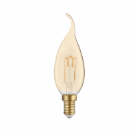 BEC LED CU FILAMENT TIP LUMANARE E14 - ACA Lighting DECO3SWWTIPAM