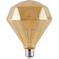 Bec led decorativ 6 W, RUSTIC DIAMOND-6, luminozitate 540 lm, E27