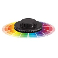 RGB Led party disc 220V 2,2W - Ultralux LPD24RGB