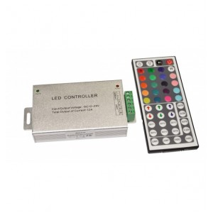 Controler RGB 144W 44 taste cu telecomanda radio - Lightex 908BA0010360