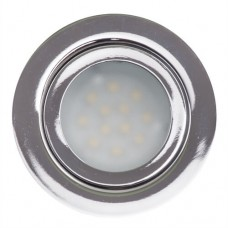 Spot Led incastrabil, 12VDC, 2700K, 3W, SMD2835, IP44