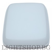 Aplica LED ZIZU IP54 24W, 4000K alb natural, alba