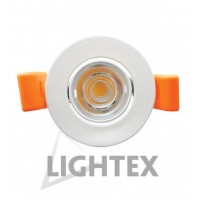 Spot Led incastrabil 4W, 220V, Ф45, IP20, 3000K/ WW - Lightex 305AL0001036