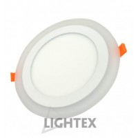Spot Led incastrabil 12+4W, 220V, Ф150, IP20, 4000K + 6500K