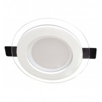 Spot Led incastrabil 6W, 220V, Ф120, IP20, 3000K+4000K+6500K - Lightex 305AL0040060