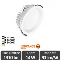 OSRAM Ledvance 14W Downlight Led Alb Cald - Osram 4058075000001