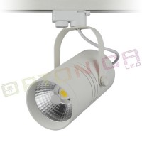 Proiector Led de interior 25W COB corp alb lumina calda - Optonica Led OPT_FL5147