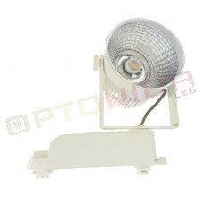 Proiectoare pe sina, track light - Proiector Led de interior 12W COB corp alb lumina alba - Optonica Led OPT_FL5149