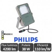 Philips-Proiector LED BVP110 40W simetric,alb-neutru - Philips 8.71016330636E+14