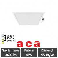 Panou Led 48W Incastrabil 60x60 - ACA Lighting 130063