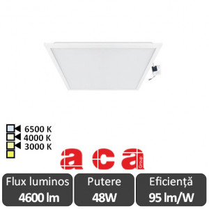 Panou Led 48W Incastrabil 60x60