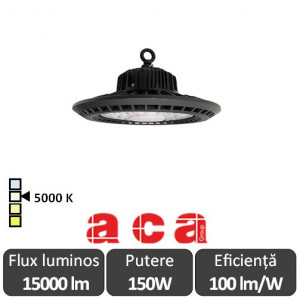 Aparat iluminat cu LED AXEL Highbay 150W - ACA Lighting AXEL15050